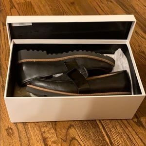 Halogen Leather Loafers
